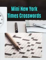 Mini New York Times Crosswords: Crossword Puzzles Book for Seniors with Today's Contemporary Dictionary Words As Brain Games ... Brain Games Extra Cro