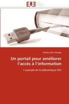 Un Portail Pour Am�liorer L Acc�s � L Information