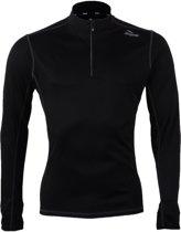 Rogelli Campton - Hardloopshirt met lange mouw - Heren - Maat 2XL - Zwart