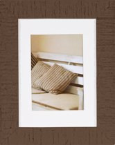 Henzo Driftwood Fotolijst - Fotomaat 13x18 cm - Donker Bruin
