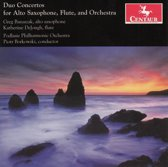 Duo Concertos for Alto Saxophone, Flute and Orchestra