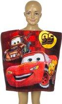 Disney Cars- poncho - velours - badcape - 50 x 100 cm