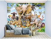 Walltastic - Jungle Safari - behang  305 x 244 cm