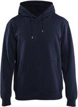 Blåkläder 3396-1048 Hooded Sweatshirt Marineblauw maat M