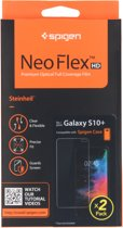 Samsung Galaxy S10 Plus Screenprotector Spigen Neo Flex HD (2 Pack)
