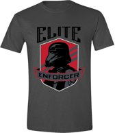Star Wars - Rogue One Elite Enforcer Men T-Shirt - Anthracite - L