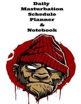 The Daily Masturbation Schedule Planner & Notebook: The Perfect Gift Idea, Adult gag prank gifts, Novelty Joke Stocking Stuffer Ideas, 8.5x11College R