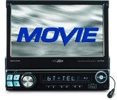 Caliber RMD574BT - Autoradio met klapscherm - Enkel din - Zwart