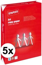 Voordelig wit A4 papier 2500 vellen