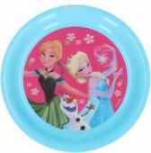 Ontbijtbord Frozen plastic 20cm