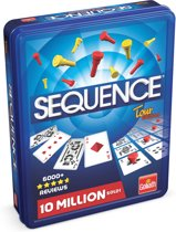 Sequence The Original - Reiseditie in Tinnen doos - Bordspel - Goliath