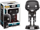 Funko POP! STAR WARS ROGUE ONE- Bobble Head POP N° 146 - K-2SO
