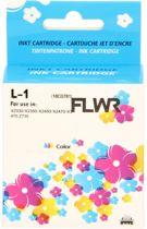 FLWR - Inktcartridge / 1 Kleur - Geschikt voor Lexmark