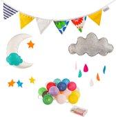 Blitsr Kinderkamer Decoratie Setje - Multicolor
