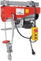 Elektrische lier 1300 W 500 / 999 kg - Bumperlier -Elektrische takel