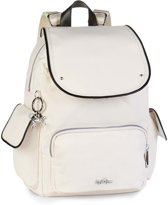 Kipling City Pack S KT - Laptop Rugzak - Cream