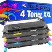 PlatinumSerie® 4 toners XXL alternatief voor Samsung CLT-406 S