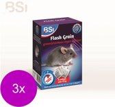 Bsi Flash Grain Tegen Muizen - Ongediertebestrijding - 3 x 5x10 g