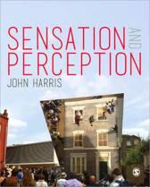 Boek cover Sensation and Perception van John Harris