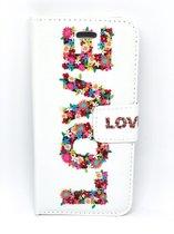 Bookcase / Boekhoesje Love (casie) - iPhone 7/8
