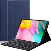 Lunso - afneembare Keyboard hoes - Samsung Galaxy Tab S5e 10.5 - Blauw