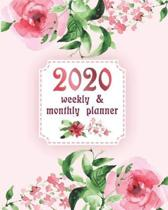 2020 Planner Weekly and Monthly: 2020 Planner Weekly and Monthly