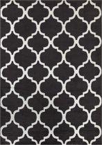 Exclusief Design Vloerkleed Casablanca - 120 x 170 cm - Grijs / Wit - Laagpolig