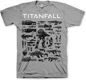 TITANFALL - T-Shirt Choose Your Weapon