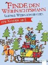 Finde den Weihnachtsmann. Lustige Weihnachtsrätsel für Kinder ab 5