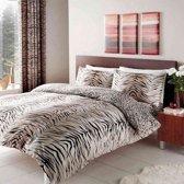 Tijger en Luipaard print 2 persoons dekbedovertrek 200 x 200 centimeter