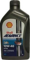 Shell Advance 4T Ultra 10W40 1L