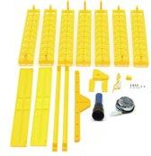 154 Positie Incubator Draaibank Met Een PCB Draaimotor Voor Eieren Kwark Pluimvee