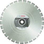 Bosch - Diamantdoorslijpschijf Standard for Asphalt 500 x 25,40 x 3,6 x 10 mm
