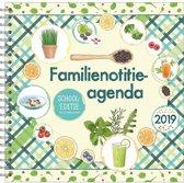 Familienotitie-agenda 17-maands 'Super Food' (zachte kaft) (t/m 6 personen) 2018/2019