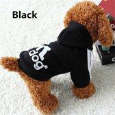 Warme sweater hondenjasje met hoody voor kleine hond - Jack Russel Chihuahua Franse Bulldog - maat S
