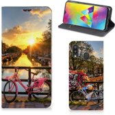 Samsung Galaxy M20 Book Cover Amsterdamse Grachten