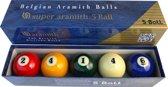 Biljart ballen set Aramith 61.5mm 5 ball