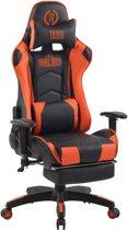 Clp Turbo XFM - Bureaustoel - Kunstleer - zwart/oranje