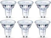 6 stuks - Philips SceneSwitch GU10 5W-3.5W-1.5W 2700K-2200K 36D