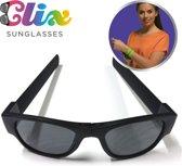 Clix Zonnebril inklapbaar zwart CLI003