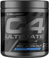 Cellucor C4 Ultimate Pre-Workout - Icy Blue Razz - 440 gram