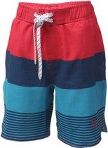 Color Kids  Nelta Beach  Zwembroek - Maat 128  - Jongens - rood/navy/blauw