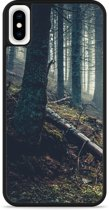 iPhone Xs Max Hardcase hoesje Dark Forest