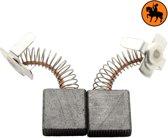Koolborstelset voor Hitachi frees/zaag GS232 - 7x17x17mm