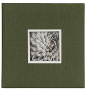 "D""rr UniTex Book Bound Album 23x24 cm green"