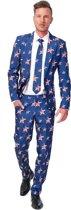 SuitMeister USA Stars and Stripes - Kostuum - Maat S