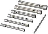 Silverline Metrische Pijpsleutelset (8-19mm) - 6-delig - Incl. wringstaaf