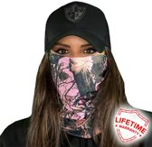 Pink Forest Camo - Faceshield