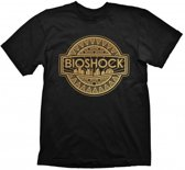 Bioshock T-Shirt Golden Logo (Maat S)