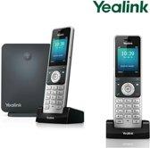 Yealink W60P Duo - VoIP telefoon - Zwart/Zilver